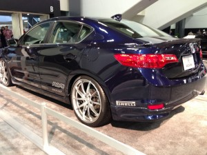 Acura tries to capture some of the spotlight from the original TSX
