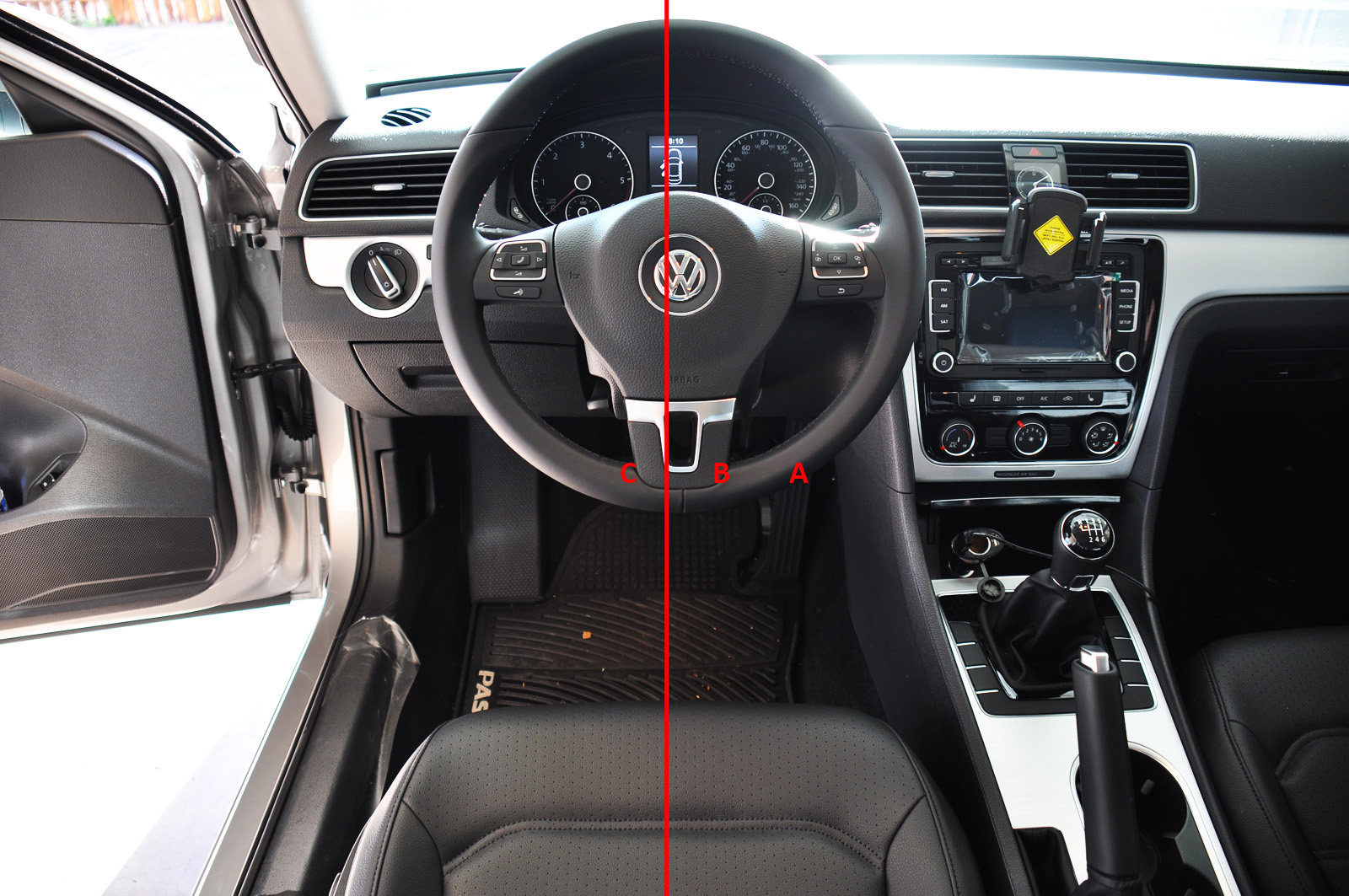2013 vw passat manual transmission