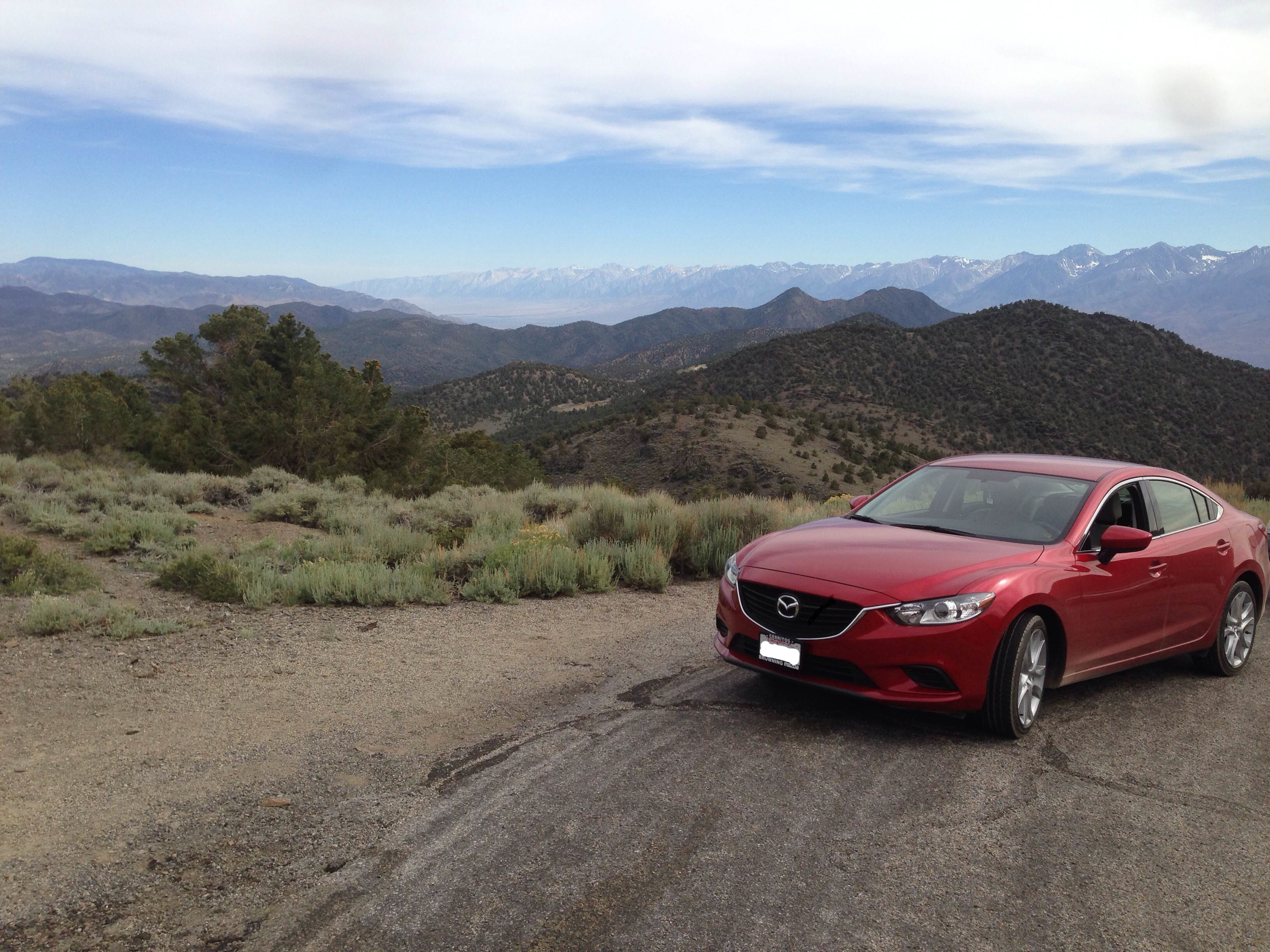 2014 Mazda6 at Ancient Bristlecone Pine Forest